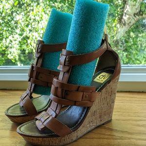 Dv dolce vita open toe wedgie sandal